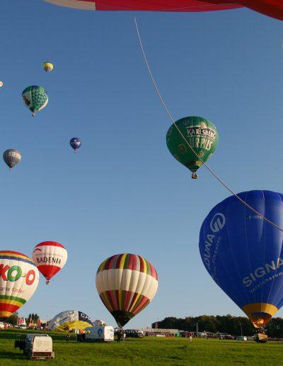 Pressefotos Heißluftballons