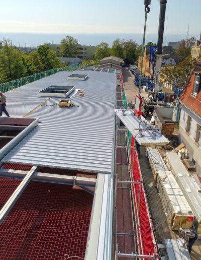 Bauvorhaben DB Bahnbau Gruppe / Neubau Lager Werkstatthalle in Halle Saale