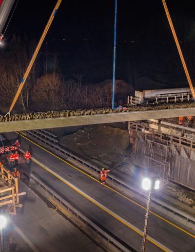 Ersatzneubau A14-Brücke an der Riesaer Straße bei Leipzig
