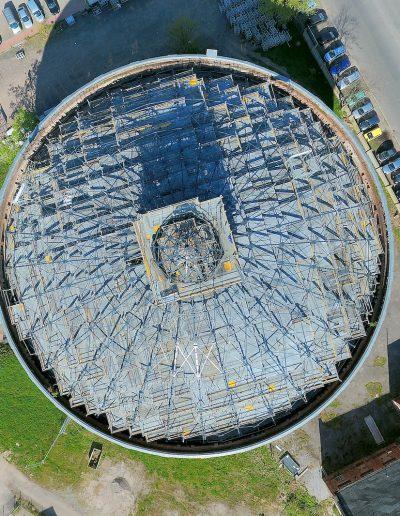 Gasometer Stadtwerke Leipzig
