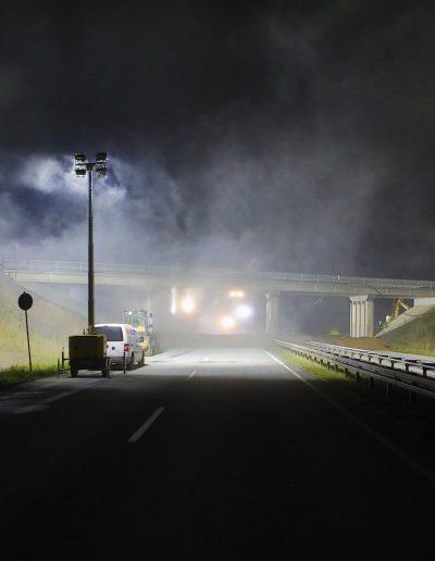 Im Zuge des A 72-Weiterbaus muss am Wochenende die nächste Brücke weichen. Bei Großdeuben wird die alte B 2-Brücke über die B 95 innerhalb von drei Tagen abgerissen