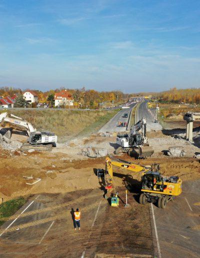 A72 Brückenabriss
