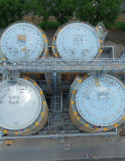 Kuraray Europe GmbH - Tanklager im Industriepark Höchst - Frankfurt am Main