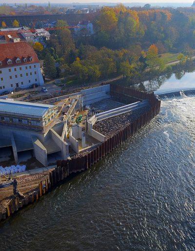 Wasserkraftwerkanlag Bad Dürrenberg